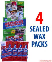 2014 Topps Archives Baseball Box of 4 Packs
