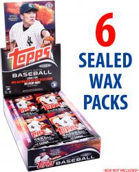 2014 Topps Baseball Update Factory Sealed 6 Pack Lot