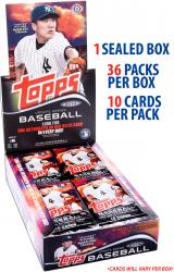 2014 Topps Baseball Update Factory Sealed Box