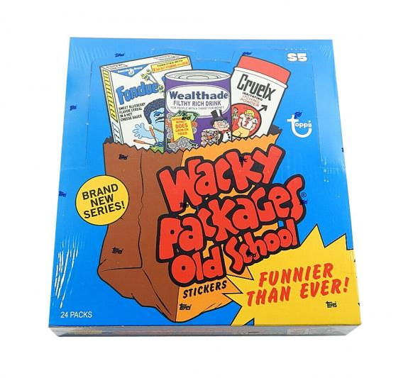 2014 Topps Wacky Packages Old School Series 5 Factory Sealed Box