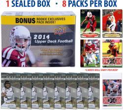 2014 Upper Deck Football Blaster Box