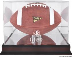 2015 College Football Playoff Florida State (FSU) Seminoles Team Logo Football Display Case