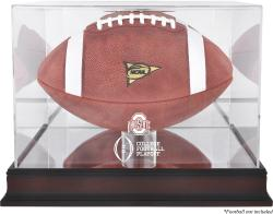 2015 College Football Playoff Ohio State Buckeyes Team Logo Football Display Case