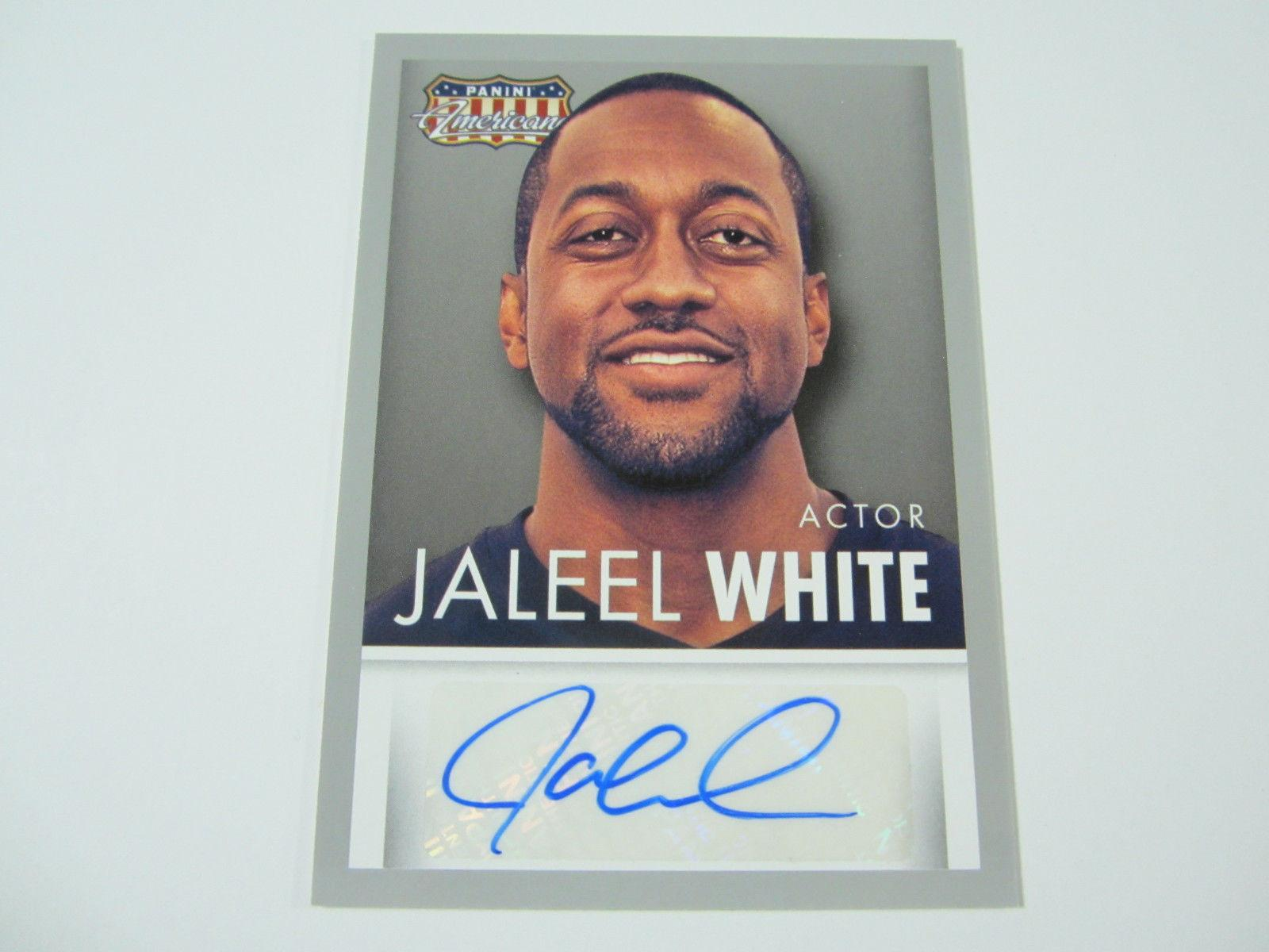 Jaleel White 2015 Panini Americana Auto Collectibles Family Matters Steve Urkel Non-sport Trading Cards
