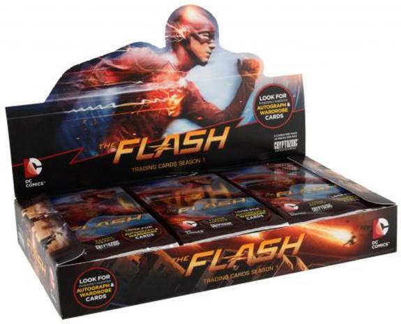 2016 Cryptozoic Flash Season 1 Trading Cards Factory Sealed 24 Pack Box