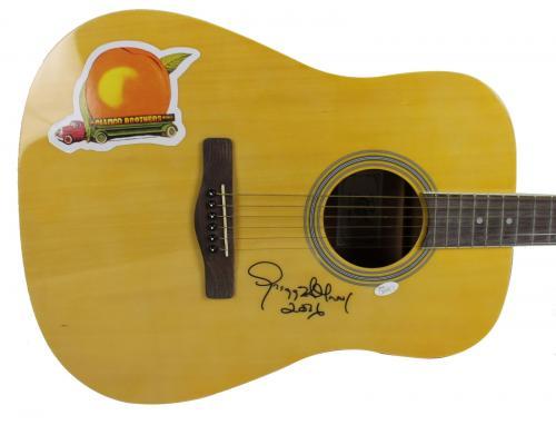 "2016"" Gregg Allman Signed Rogue Acoustic Guitar JSA #Q63455"