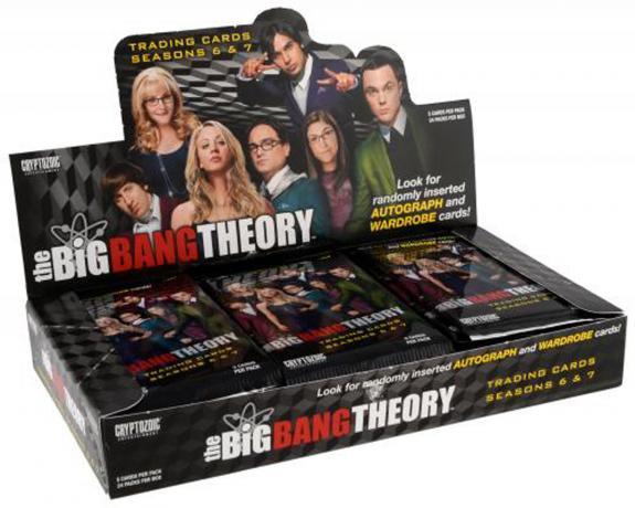 2017 Cryptozoic Big Bang Theory Season 6 & 7 Trading Cards Factory Sealed 24 Pack Box