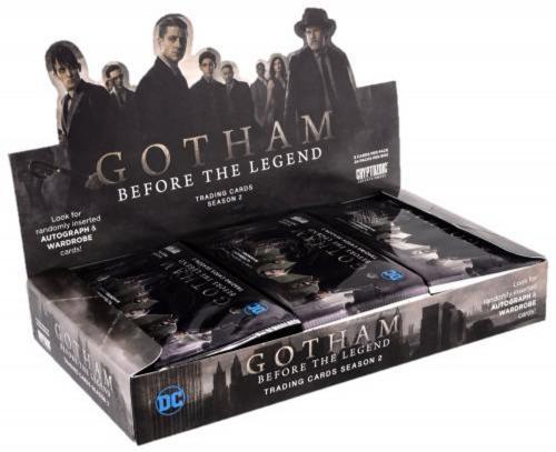 2017 Cryptozoic Gotham Season 2 Trading Cards Factory Sealed 24 Pack Box