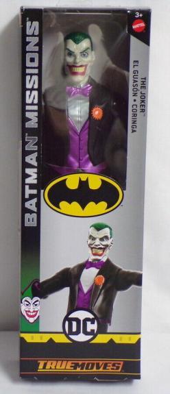 "2018 Batman Joker DC 12"" Mattel True Moves Action Figure SEALED"