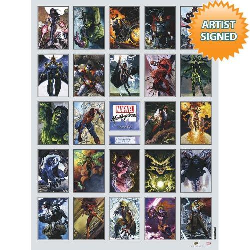 2018 Marvel Masterpieces Retrospective - Upper Deck
