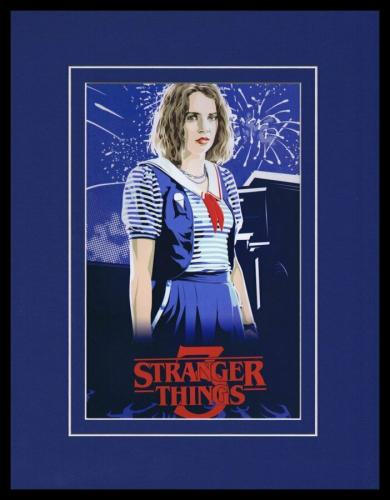 2019 Stranger Things 3 Robin Buckley Maya Hawke Framed 11x14 Poster Display