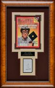 20×32 Bill Gates Signed Scorecard with Time Magazine Cover