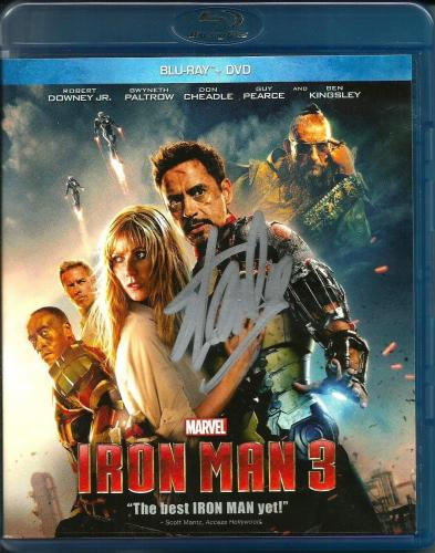 Stan Lee Signed Marvel Iron Man 3 Blu Ray DVD W/ Stan Lee Hologram