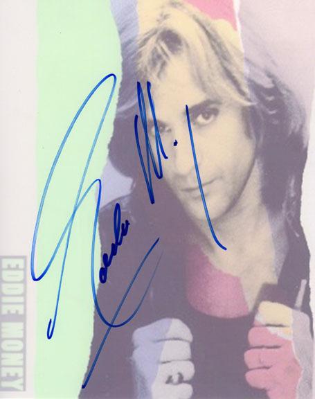Eddie Money Autographed Signed Photo & Proof Big Signature