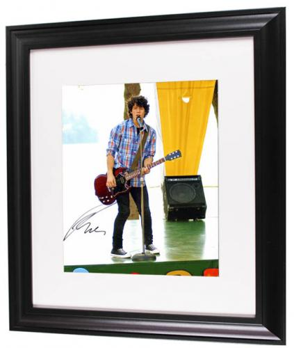 Music Nick Jonas Autographed Illusion Wall Signed 11x14 Photo Aftal Rock & Pop