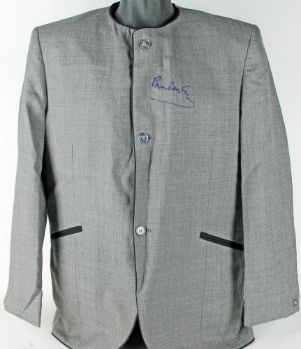 Paul McCartney The Beatles Signed Custom Dezo Hoffman Jacket PSA/DNA #S08153