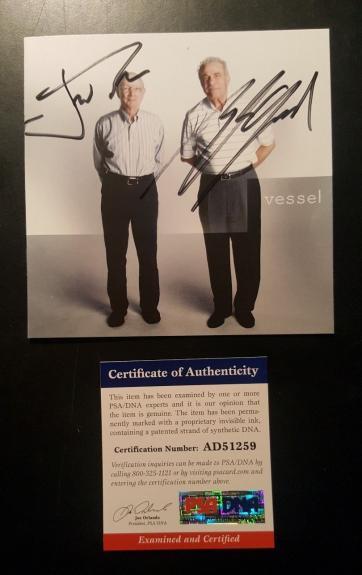 21 Twenty One Pilots Josh Dun Tyler Joseph Signed Autographed Vessel CD PSA/DNA