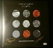 21 Twenty One Pilots Josh Dun Tyler Joseph Signed Blurryface Album PSA/DNA COA