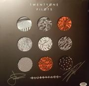 21 Twenty One Pilots Josh Tyler Joseph Signed Autographed Blurry Face PSA/DNA
