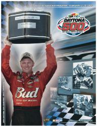 "Canvas 22"" x 30"" 47th Annual 2005 Daytona 500 Program Print - Mounted Memories"