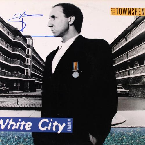The Who Pete Townshend Autographed Signed 12x12 Record UACC AFTAL