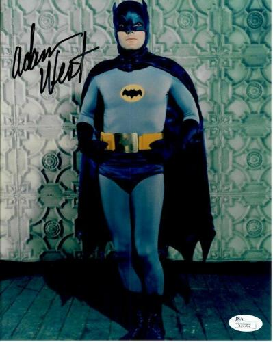 Adam West Hand Signed Autographed 8X10 Photo Batman Standing Solo JSA S37702