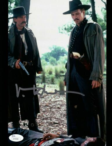 Val Kilmer Signed Autographed 8X10 Photo Tombstone Over Ringo JSA S79266