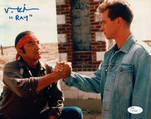 "Val Kilmer Signed Autographed 8X10 Photo Inscribed ""Ray"" Thunderheart JSA S79269"
