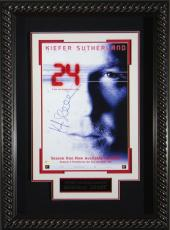 24 - Kiefer Sutherland Autographed 11x17 Poster Display