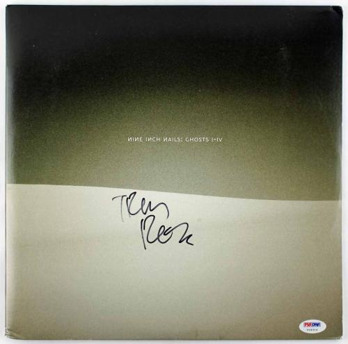 Trent Reznor Authentic Signed Ghosts I-iv Vinyl Psa/dna V18314