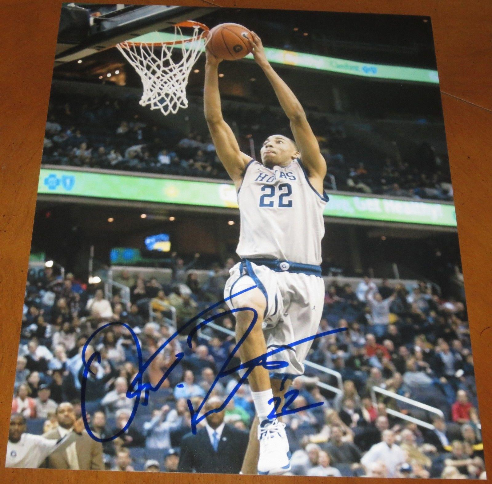 Otto Porter Signed Photograph - 11x14 Authentic Autograph Georgetown