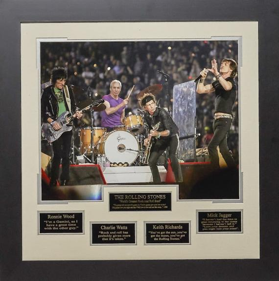 28×28 Rolling Stones Concert 16×20 with Quotes
