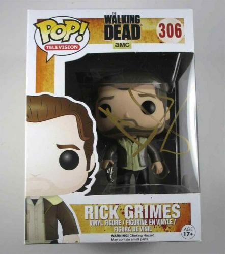 3d3fe92090e Sale. Last One. Andrew Lincoln Walking Dead Autographed Signed Funko Pop  Doll JSA COA