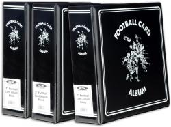 "3-3"" Football Card Collectors Album- - Mounted Memories"