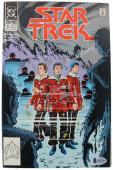 (3) Shatner, Nimoy & Kelley Signed DC Star Trek #5 Comic BAS #A11126