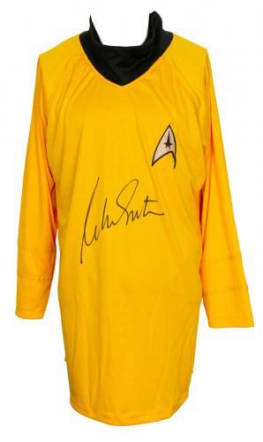 William Shatner Signed Custom Prop Uniform Shirt JSA