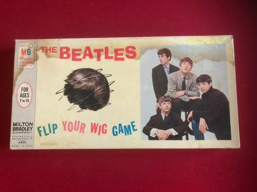 "1964, BEATLES, ""FLIP YOUR WIG"" MB Board Game (Scarce / Vintage)"