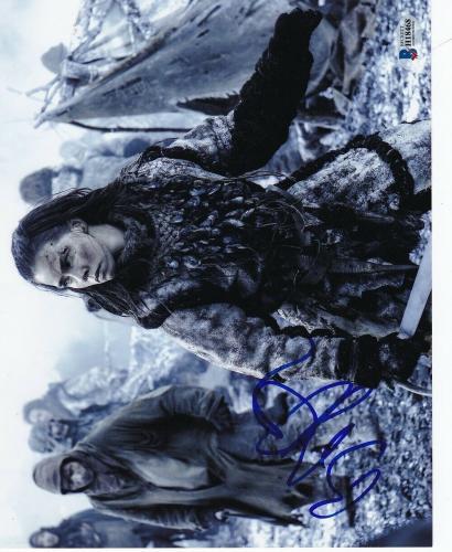 Birgitte Hjort Sorensen Game of Thrones Signed 8x10 Photo BAS