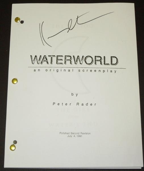 Original signed script
