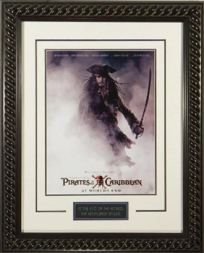 Pirates Of The Caribbean Memorabilia Autographed Pictures