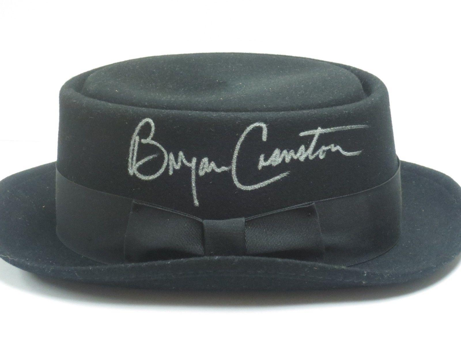 Bryan Cranston Signed Official Heisenberg Hat Autograph Exact Proof Psa/dna Coa