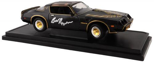 Burt Reynolds Autographed Smokey And The Bandit Replica 1:18 Die Cast Car - PSA/DNA COA