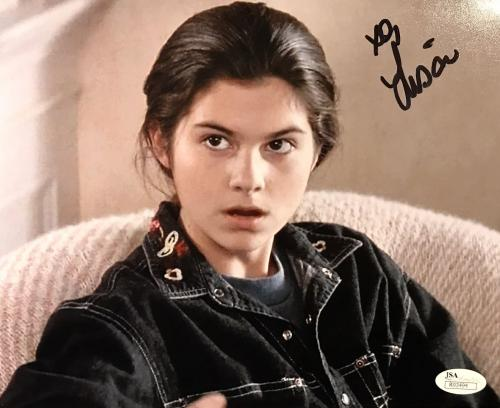 Lisa Jakub (Mrs Doubtfire) Signed 8x10 Photo Jsa R93494
