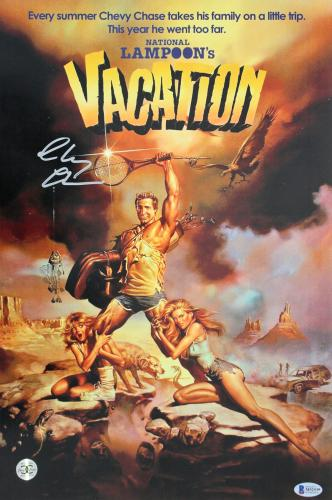 National Lampoon's Vacation Memorabilia: Autographed