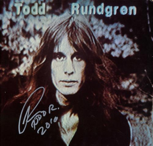 Photographs 2019 Fashion Todd Rundgren Signed 8x10 Photo Coa
