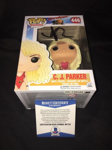 Kelly Rohrbach Signed Official Baywatch Funko Pop Vinyl Figure CJ Parker BAS #2