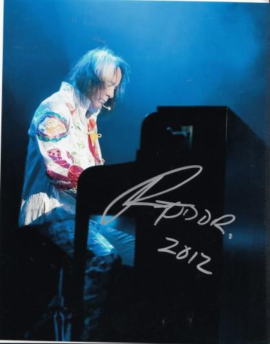 Photographs Todd Rundgren Signed Autographed Photo Music