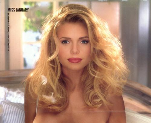 Anna Marie Goddard Signed Jan 1994 Playboy Playmate Full Centerfold Beckett Bas