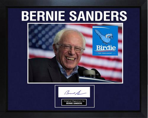 Bernie Sanders 11x14 Signed Photo Print YOUR name Personalized Autographed