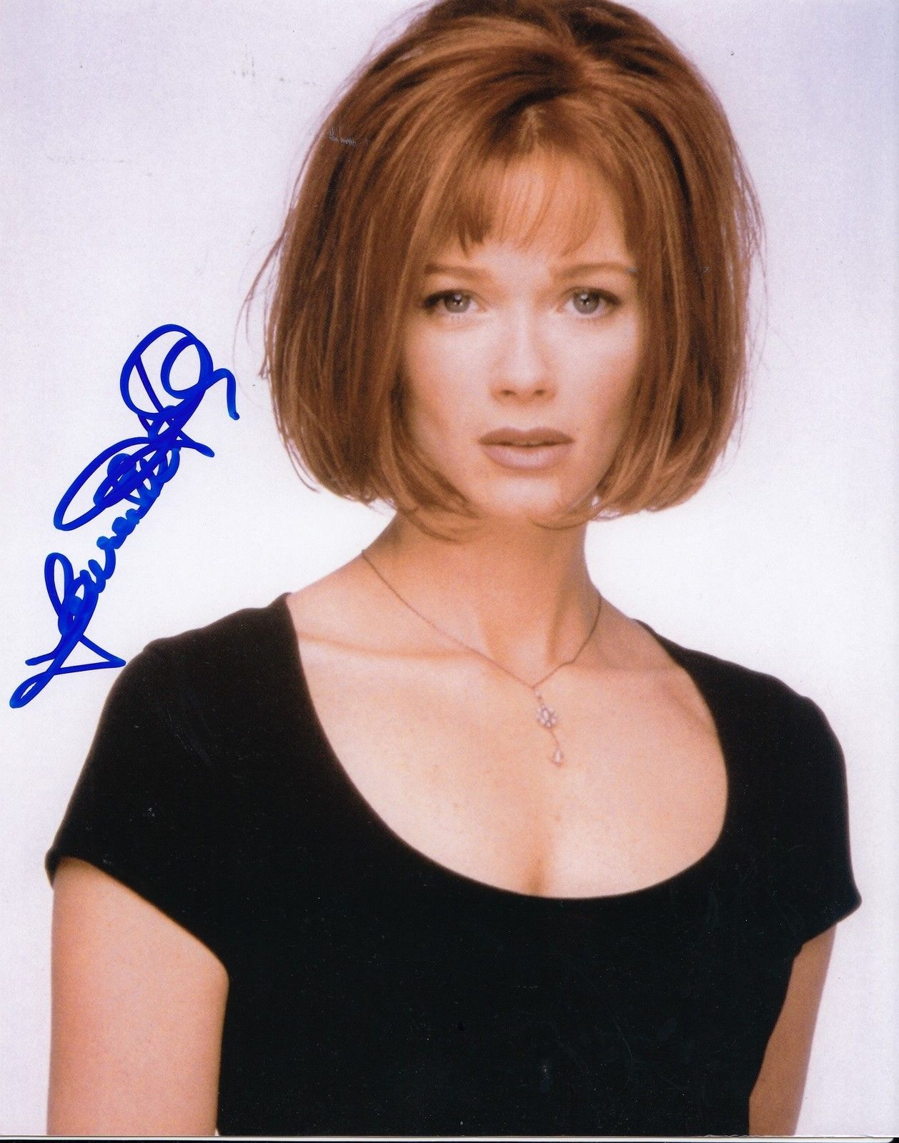 LAUREN HOLLY signed (DUMB & DUMBER) Movie Star 8X10 W/COA Before You Say I  Do #1